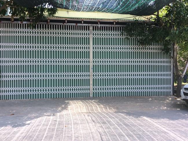Cửa kéo Đài Loan an toàn khi sử dụng dành cho nhà kho