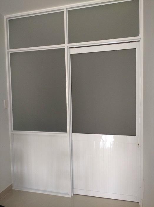 Vách ngăn nhôm kính phòng ngủ đẹp và tạo không gian riêng