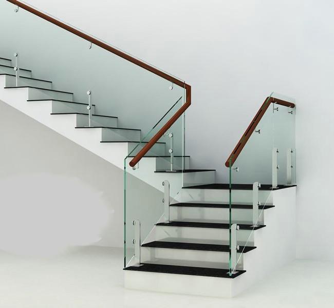 Các mẫu cầu thang kính đẹp và nổi bật cho ngôi nhà của bạn