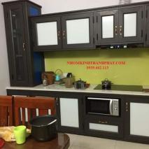 Báo giá tủ bếp nhôm kính mới nhất hiện nay dành cho khách hàng