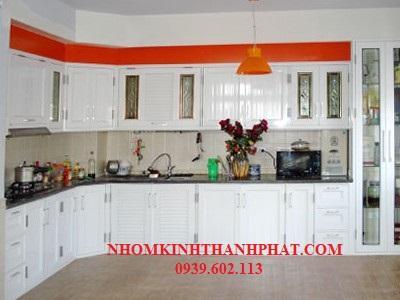 Mẫu tủ bếp nhôm xingfa cao cấp và hiện đại nhất