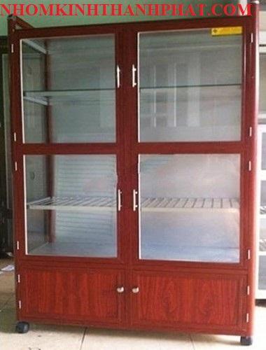 Xem ngay 47 mẫu tủ chén nhôm kính đẹp và giá rẻ ở Hồ Chí Minh